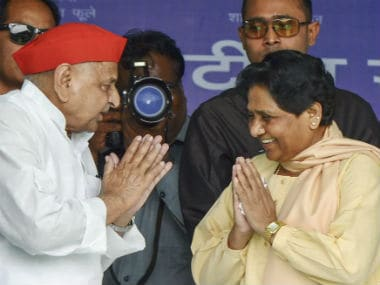 SP-BSP joint rally in UP: Mayawati, Mulayam Singh Yadav forget bitter past in quest to defeat Narendra Modi