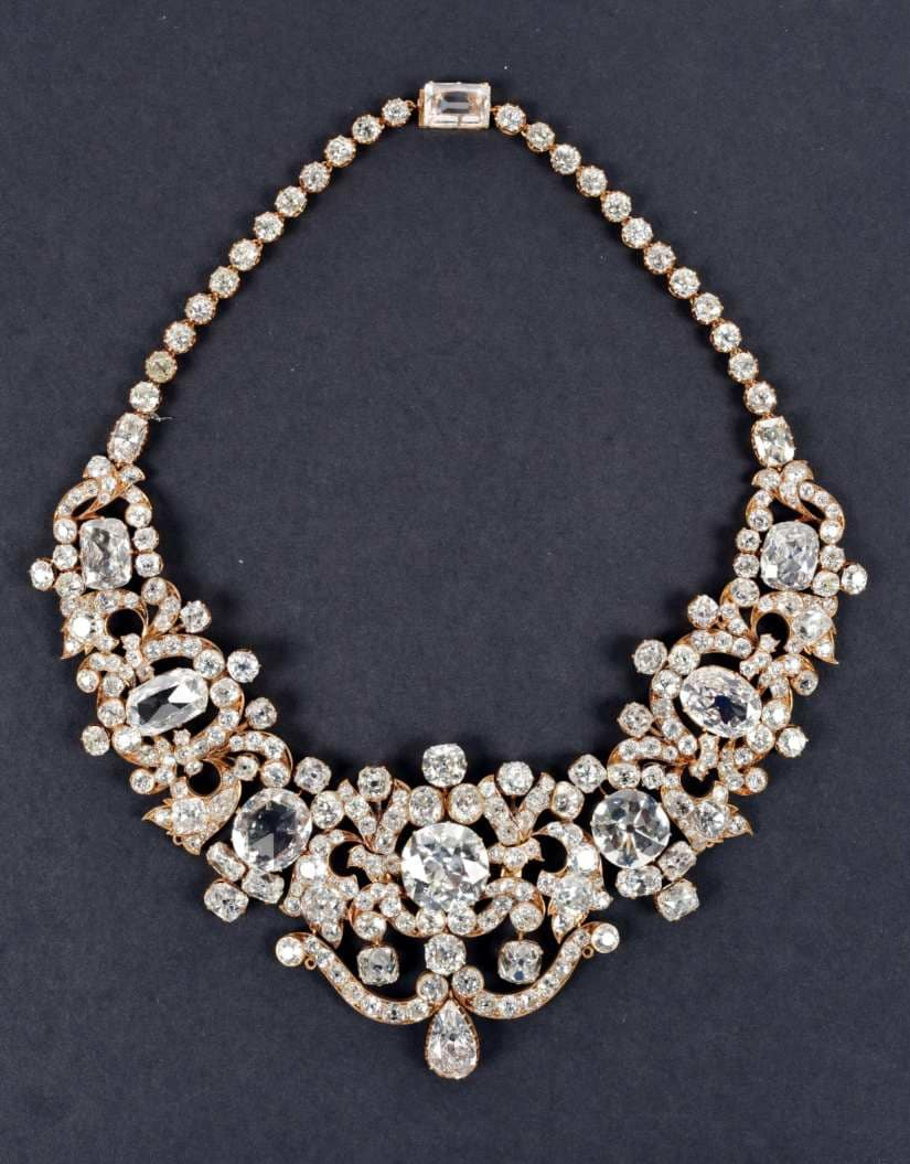 Kanthi Almas Kanval | Necklace set with diamonds | India, Late 19th – 20th century