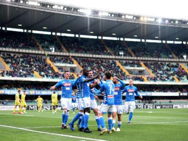Serie A Napoli Defender Kalidou Koulibaly Bags Brace