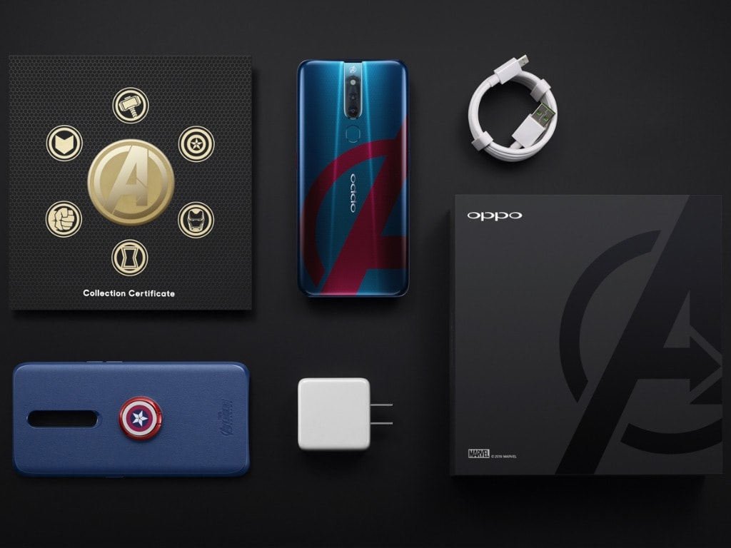 Oppo F11 Pro Marvel's Avengers Limited Edition India launch on 26 April- Technology News, Firstpost