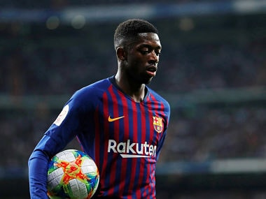 LaLiga: Barcelonas Ernesto Valverde says Ousmane Dembele unfit for Atletico Madrid clash, doubtful for Manchester United clash