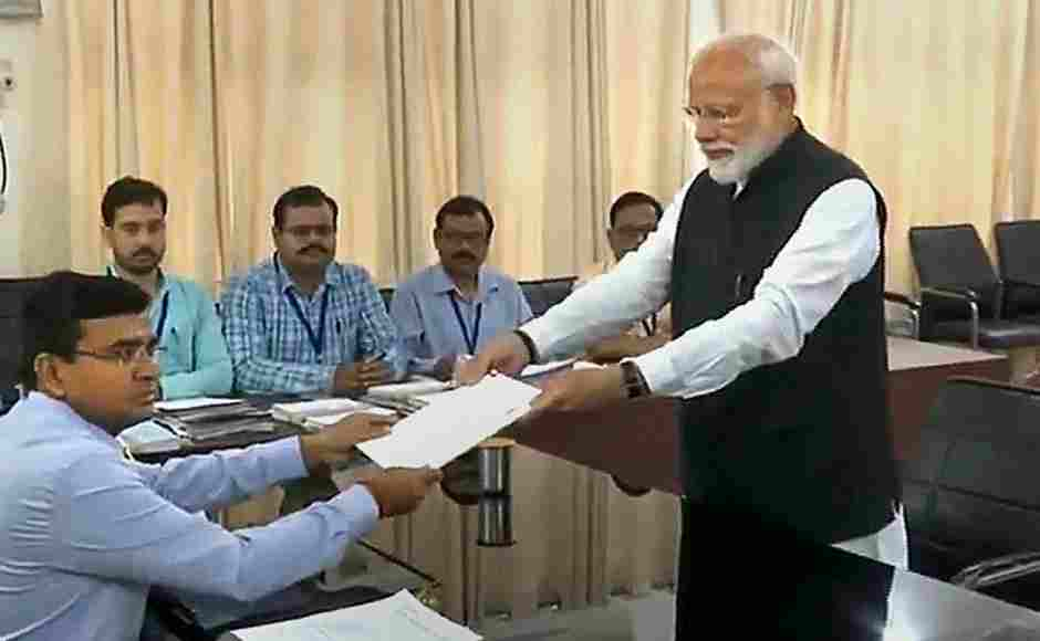 The prime minister filed his nomination papers from Varanasi Lok Sabha parliamentary constituency on Friday. PTI