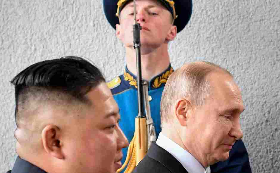 Following their talks on Thursday, Putin said Kim is willing to give up nuclear weapons, but only if he gets ironclad security guarantees supported by a multinational agreement. AP