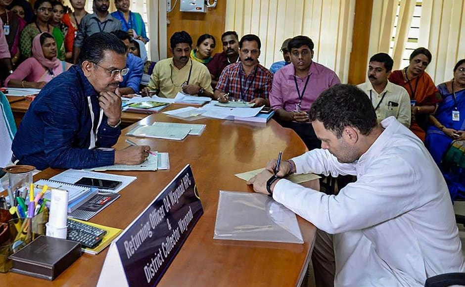 Rahul Gandhi files nomination from Kerala's Wayanad, conveys message of unity during roadshow