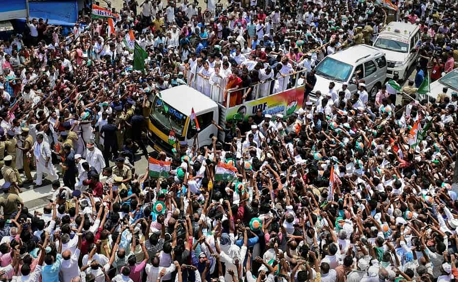 "Rahul said he was fighting the polls from down south to send a message that India was one. ""South, north, east, west, centre... all are one... There is an assault taking place across the country by the RSS and BJP. I just want to send a message and I will stand from south India and north India. My aim was to give a message,"" he said. PTI"