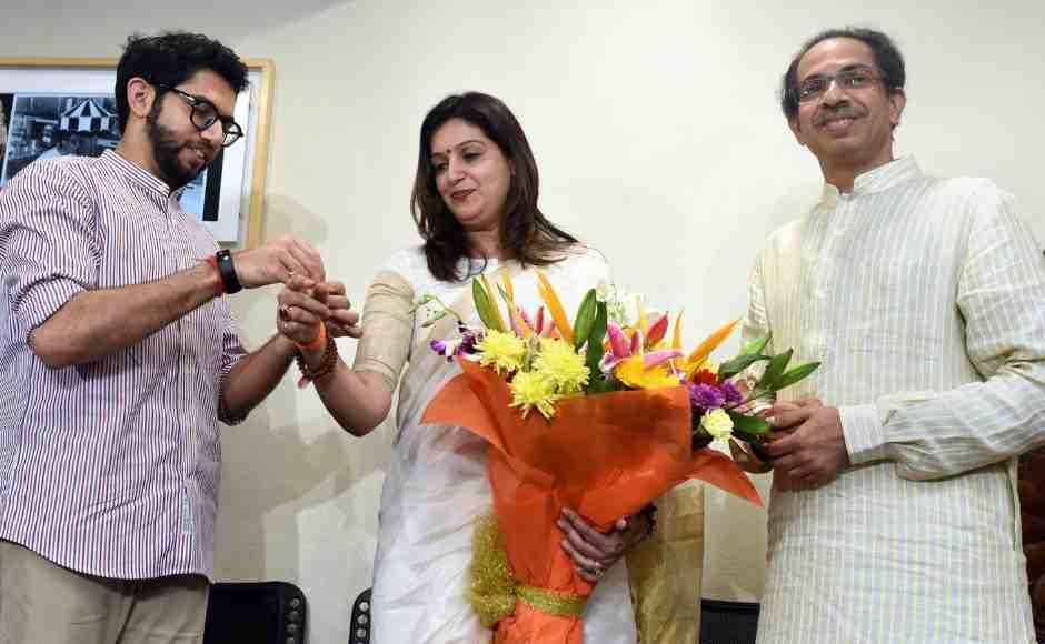 Lok Sabha poll campaign: Priyanka Chaturvedi joins Shiv Sena, Mulayam Singh addresses election rally with Mayawati