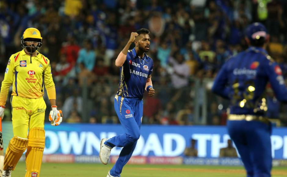 After batting blitz in the first innings, Hardik Pandya put in a great shift with the ball removing MS Dhoni, Ravindra Jadeja and Deepak Chahar as MI conquered the battle against CSK. Sportzpics