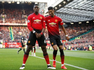 Premier League: Manchester United ride on Paul Pogba penalties to sink West Ham; Tottenham move up to third