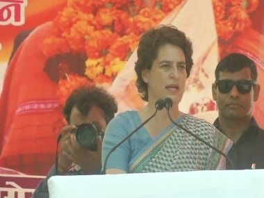 Priyanka Gandhi express concern over crime against women and children in UP, asks govt to take responsibility for their safety