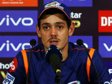 Quinton de Kock felll for a duck on Sunday. Sportzpics