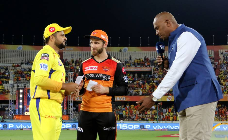 Suresh Rainacaptained CSK against Kane Williamson's SRH in the absence of MS Dhoni, who was rested due to a back issue. Sportzpics