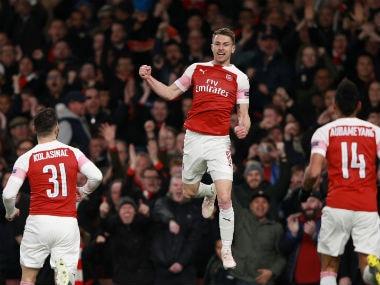 Europa League: Arsenal, Chelsea pick up contrasting first leg quarter-final wins; Benfica teen Joao Felix creates history