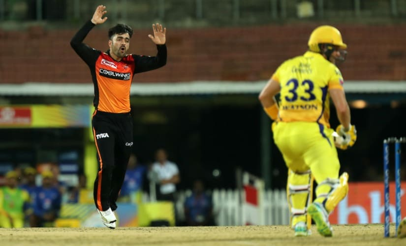 Rashid Khan and Shane Watson were involved in an altercation during the IPL match between CSK and SRH. Sportzpics