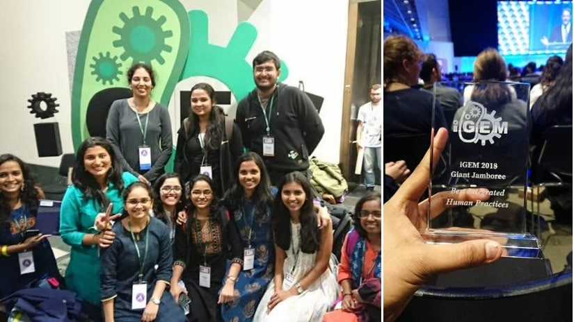 Science vs paan stains: How a team from a Mumbai college has used genetic engineering to clean spatter