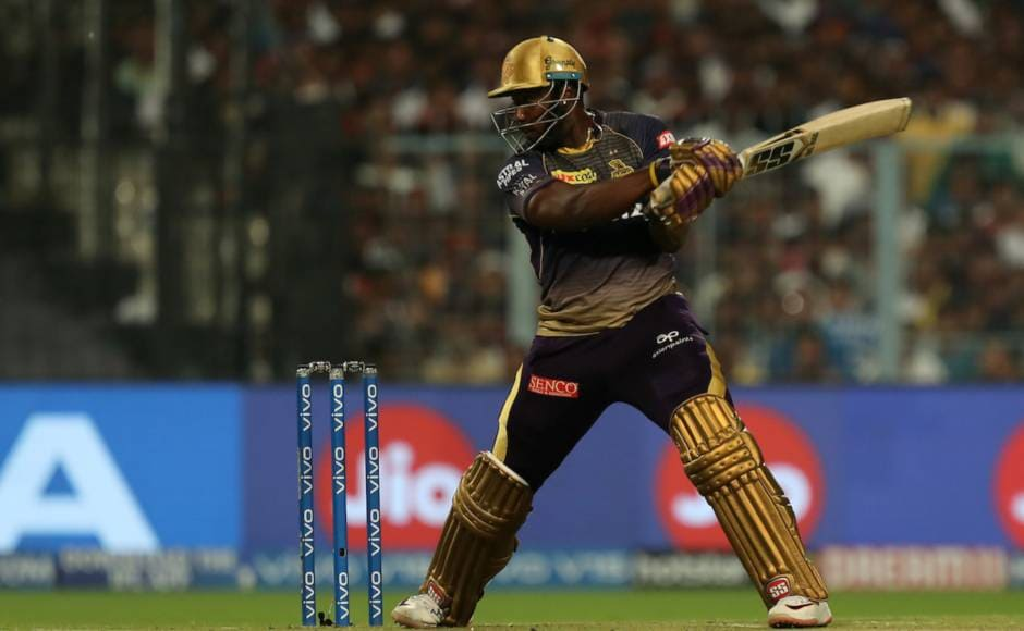 Andre Russell was once again in his element last night as he made 65 off 25 and helped KKR almost pull off the near impossible chase. KKR eventually lost the match by 10 runs to RCB. Sportzpics
