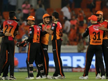 Sunrisers Hyderabad are placed fourth on the IPL 2019 table. Sportzpics