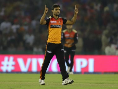 Sandeep Sharma's SRH suffered a six-wicket defeat on Monday Sportzpics