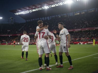 LaLiga: Roque Mesa and Pablo Sarabia lift Sevilla back into European contention with win over Alaves