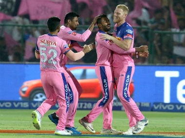 Shreyas Gopal had starred with the ball in RR's match against RCB, in which the Royals collected their first points of IPL 2019. Sportzpics