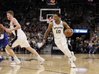 NBA Playoffs 2019: DeMar DeRozan shines as aggressive Spurs dominate Nuggets to force winner-take-all game seven