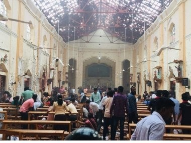 Where is God?: Stunned Sri Lankans ask after deadly blasts rock Colombo on Easter Sunday, bring back memories of civil war