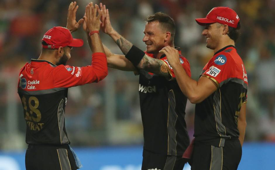 Dale Steyn returned to playing for RCB after nine years last night and took two wickets after giving away 40 runs in four overs. Sportzpics