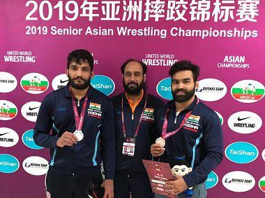 Asian Wrestling Championships: Gurpreet Singh, Sunil Kumar bring home silvers in Greco-Roman; Prem loses bronze playoff