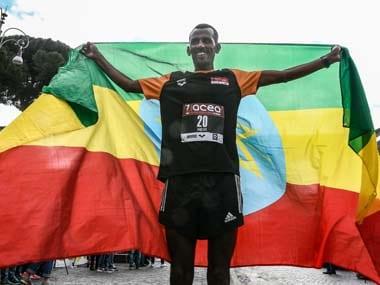 Tebalu Zawude Heyi, Alemu Megertu finish first in mens, womens events as Ethiopia make clean sweep at Rome marathon