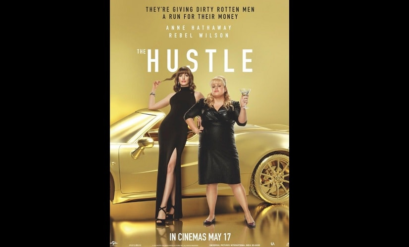 The Hustle: Anne Hathaway, Rebel Wilson look glamorous in new poster; film to release on 17 May