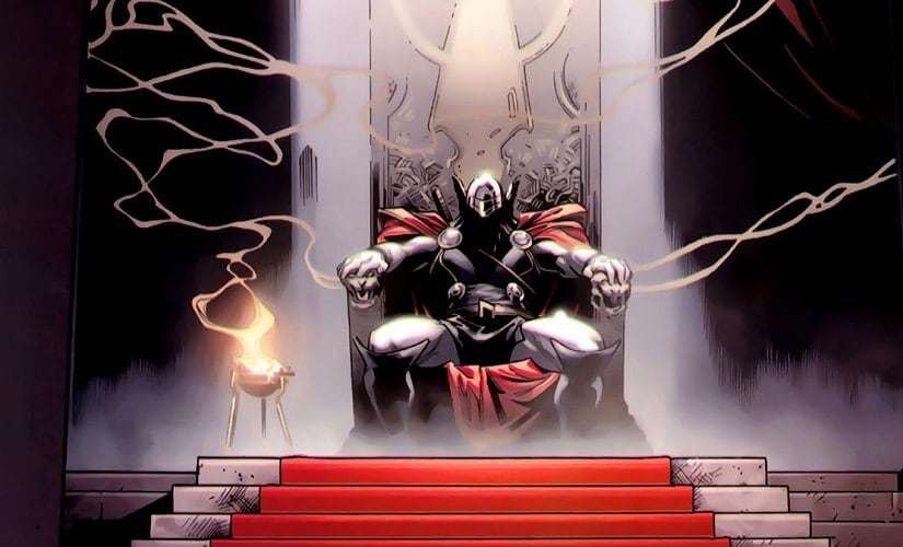 Thor may not enjoy being king, but the man looks good on the throne | Marvel Comics