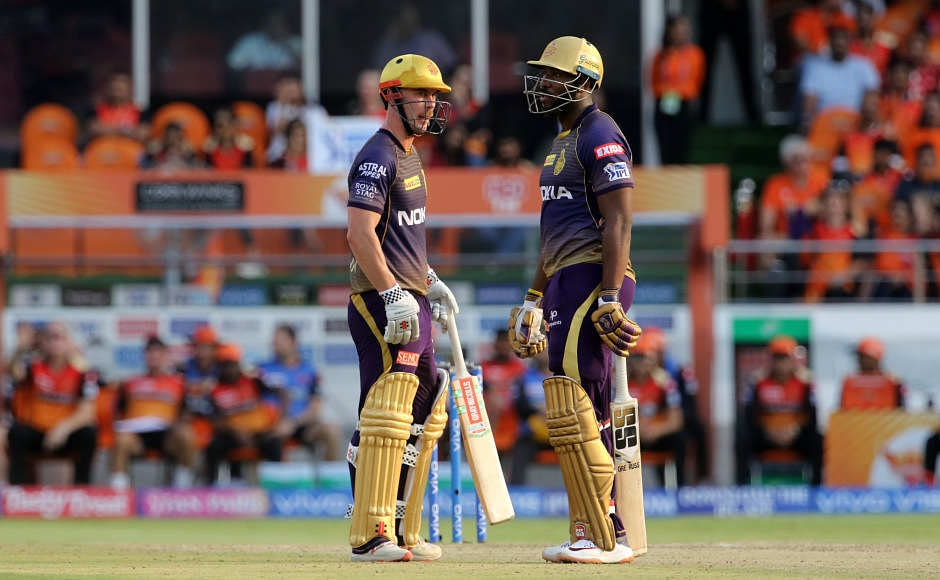 Sunrisers Hyderabad won the toss and elected to field first. After a quick start, the team started losing wickets and lost the momentum. Chris Lynn made 51 before getting dismissed while Andre Russell, surprisingly, came after the fall of 5th wicket and couldn't make much impact. Sportzpics