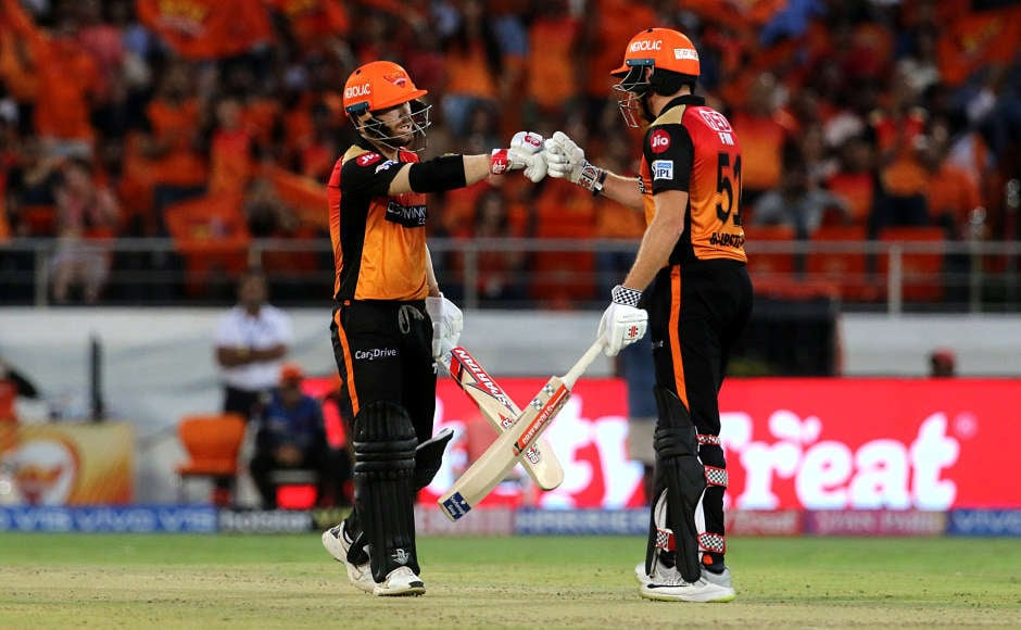David Warner, Jonny Bairstow inspire SRH to victory over KKR; RCB pull off last-ball thriller against CSK