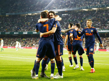 LaLiga: Valencia ride on Goncalo Guedes brace against Real Betis to inch closer to Champions League spot