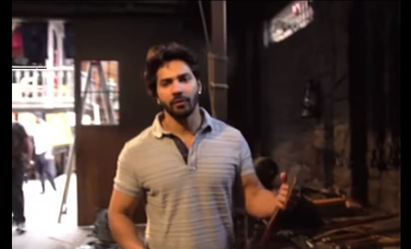 Watch: Varun Dhawan takes viewers on tour of sets of Kalank, explains why his period drama is a big screen experience