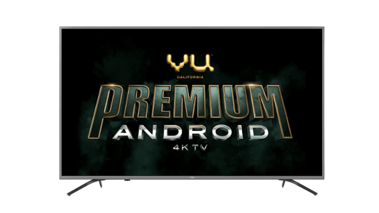 The entire range features 4K resolution panel and HDR 10 technology.