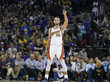 NBA: Warriors clinch Western Conference top seed with win over Clippers; Rockets continue three-point assault