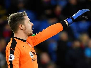 Premier League: Crystal Palace goalkeeper Wayne Hennessey acquitted of all charges after being accused of performing Nazi salute