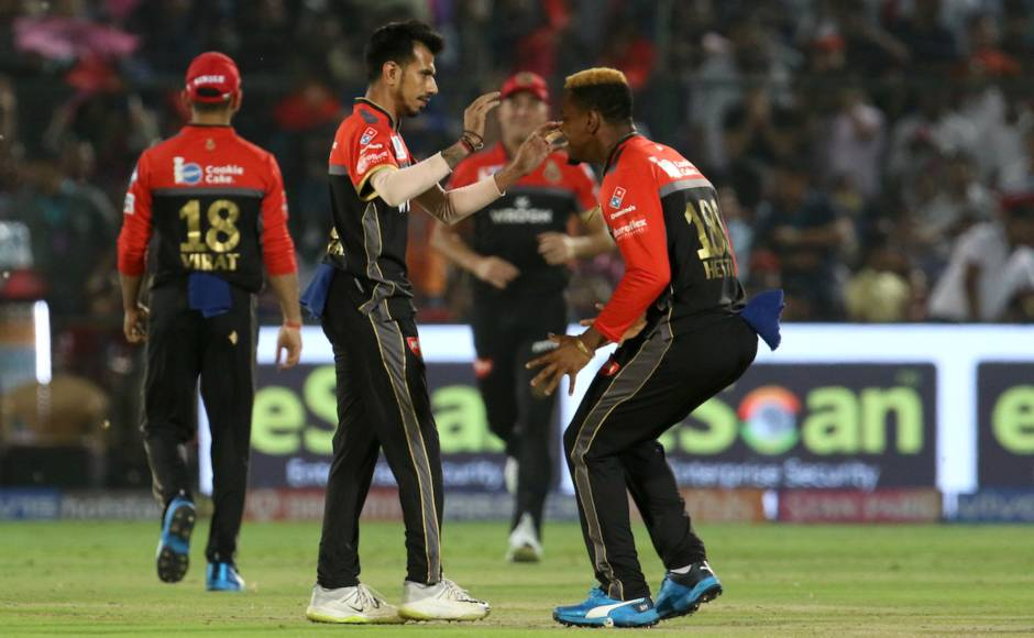 Yuzvendra Chahal was the pick of the bowlers for RCB who took 2/17 in four overs despite other bowlers going for plenty. Sportzpics