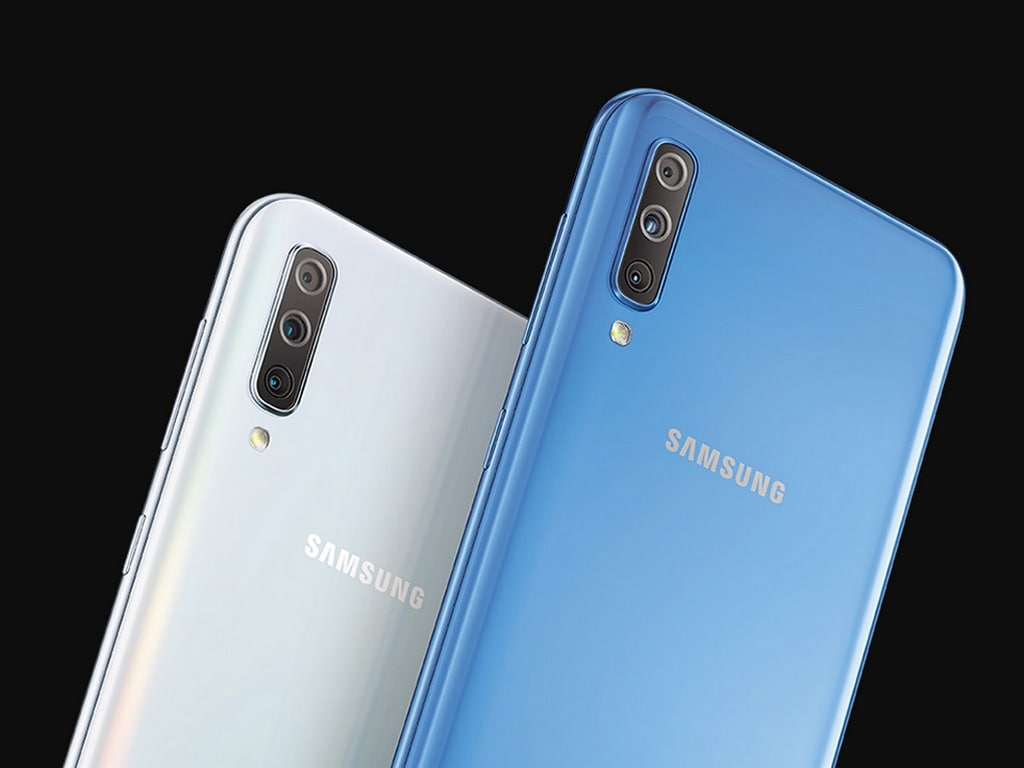 Samsung Galaxy A70 with triple camera setup launched in India, priced at Rs 28,990