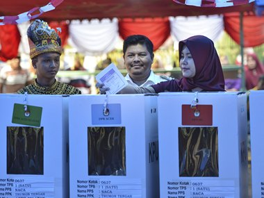Indonesia votes in its biggest-ever election: 190 million to decide fate of 245,000 candidates, Joko Widodo up against Prabowo Subianto again