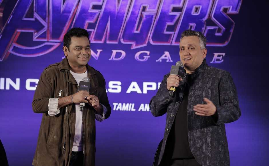 Joe with AR Rahman who has composed, produced and arranged the song