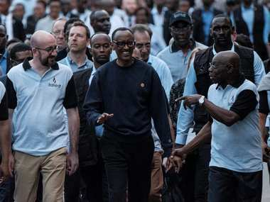 Rwanda is a family again: President Paul Kagame leads memorial 25 years after over 8 lakh were killed in genocide