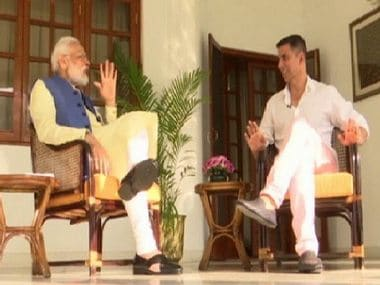Mamata sends me kurtas, sweets: In non-political interview with Akshay Kumar, Narendra Modi says he has good friends in Opposition