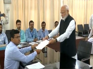 Narendra Modi files nomination from Varanasi: Flanked by allies, PM demonstrates NDA is no one-man show