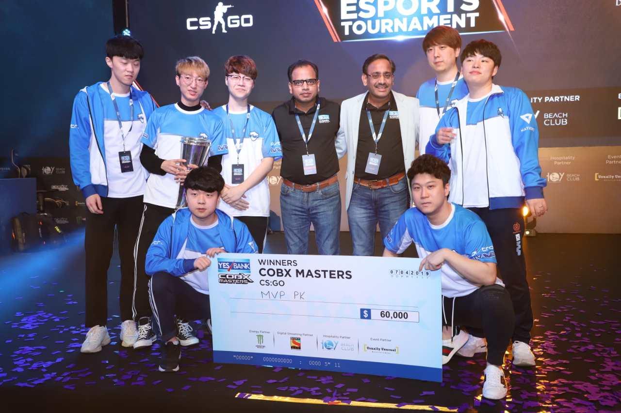 MVP PK: Winners of CS:GO COBX Masters 2019.