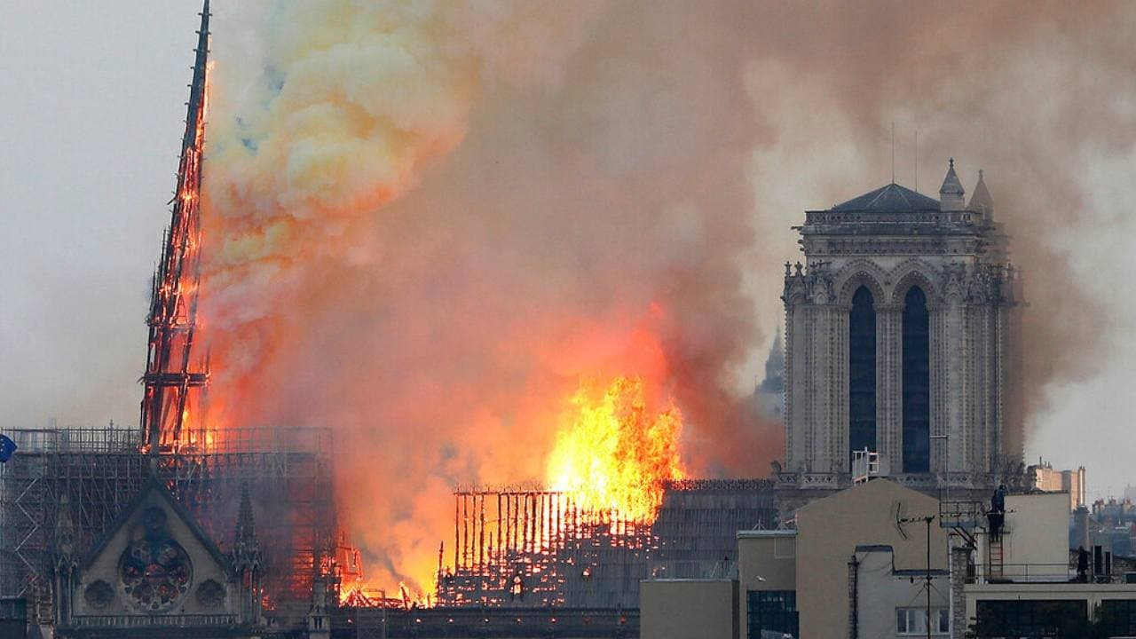 YouTubes algorithm links 9/11 videos to the Notre Dame fire: Report