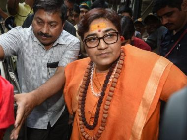 Pragya Singh Thakur gets EC notice for remark expressing pride over participation in Babri Masjid demolition