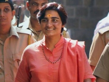 Election Commission serves show cause notice to Sadhvi Pragya Singh over Hemant Karkare remark