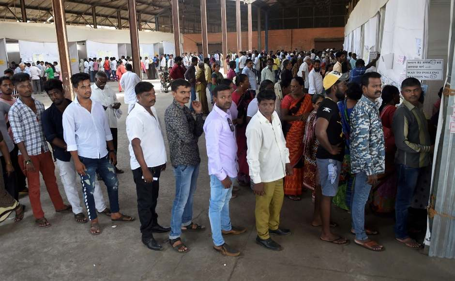 Six constituencies of Mumbai went to polls with 11 other seats in Maharashtra in the fourth and final phase of Lok Sabha elections in the state. The city recorded 55.11 percent voting, an improvement over the 2014 elections figure of 51.59 percent. PTI