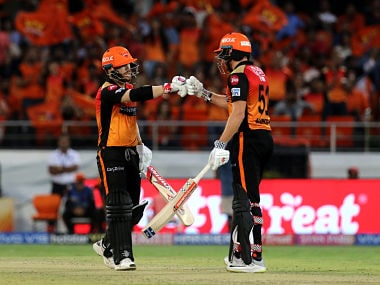 IPL 2019, SRH vs KKR Match Report: David Warner, Jonny Bairstow combine to help Hyderabad thump Kolkata by nine wickets